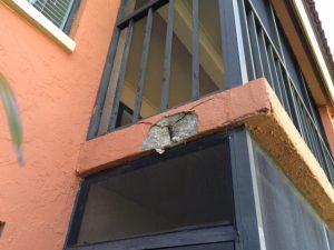 Lanai edge repair